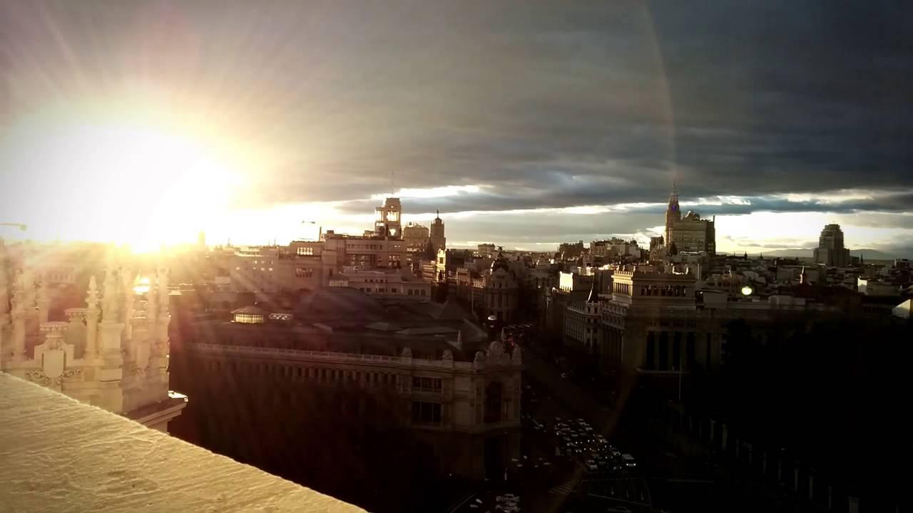 Terraza Mirador Del Palacio De Cibeles En Madrid