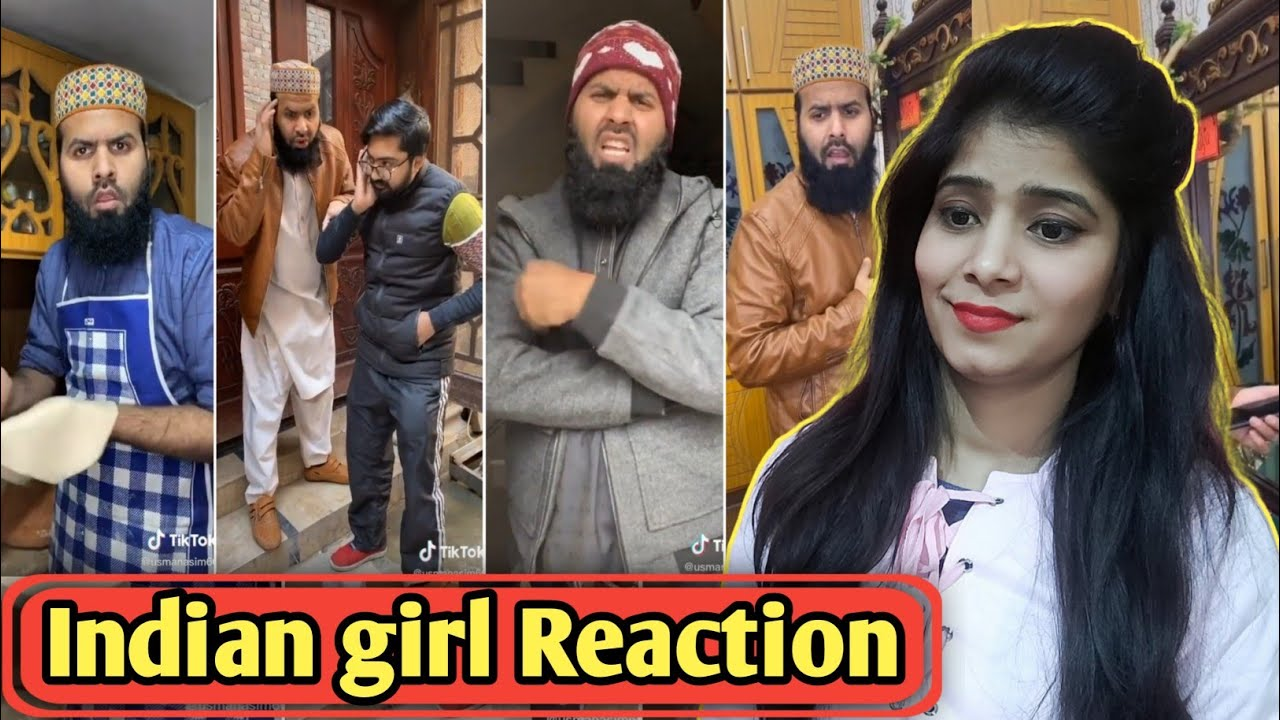 Indian Reaction On Malik Usman New Tiktok | Pakistani Tiktok Funny Comedy Videos 2020