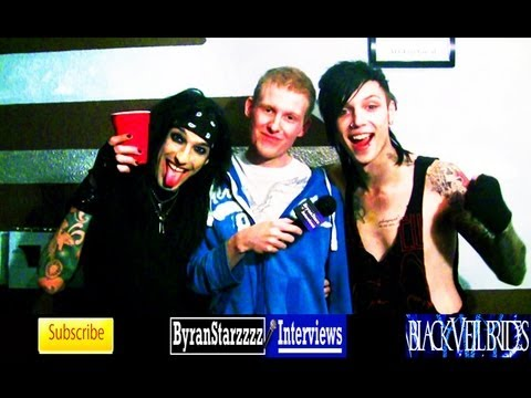 Black Veil Brides Interview #6 Andy Biersack & Christian Coma 2013