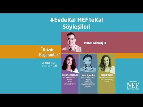 """EvdeKal MEFteKal Söyleşileri - 5 """"Krizde Başaranlar"""""""