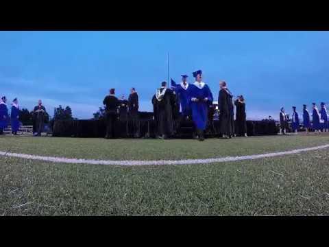 2018 Sapulpa High School Graduation timelapse