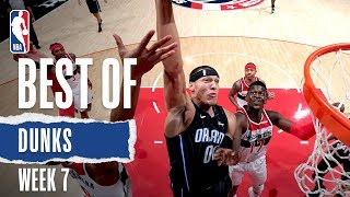 NBA's Best Dunks | Week 7 | 2019-20 NBA Season