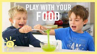 Play with Your Food: Science Experiments!