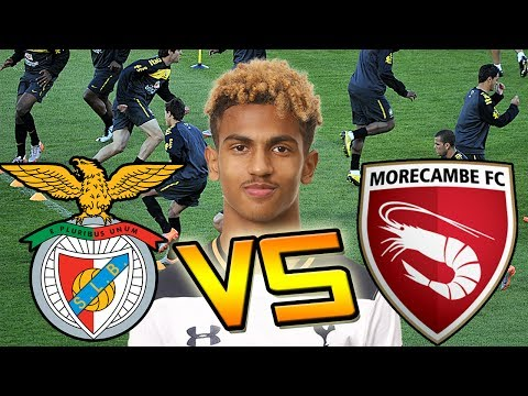 CAN BENFICA DEVELOP A YOUTH PLAYER FASTER THAN MORECAMBE?!? - FIFA 17 EXPERIMENT