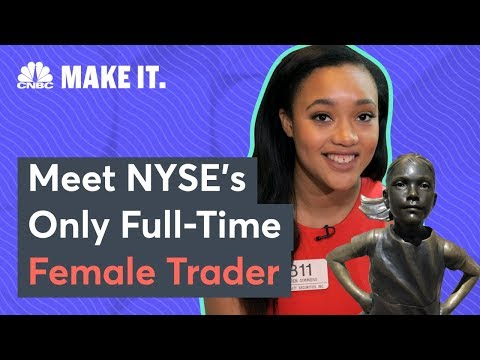 Sandy - 23-Year-Old Is The ONLY Full Time Female Trader At NYSE!