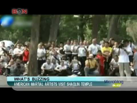American martial artists visit Shaolin temple-Microblog Buzz-July 09,2013 - BONTV China