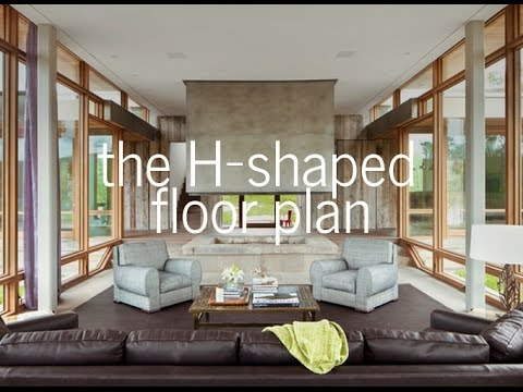 The H Shaped Floor Plan Medieval Hall House Youtube