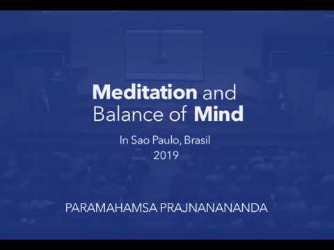 Meditation and Balance of Mind