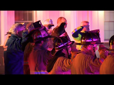 Police, Firefighters Honor Slain Deputy Marshal