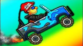 Hill Climb Racing 2 #2 игра как мультик про тачки гонки машинки на андроид #Мобильныеигры