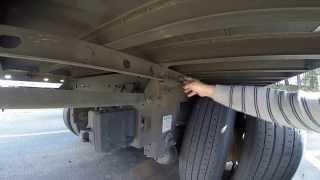 Kак передвигают колеса (тендем)на американских прицепах.