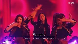 IZONE ( アイズワン)「ヴァンパイア - VAMPIRE」Stage Mix