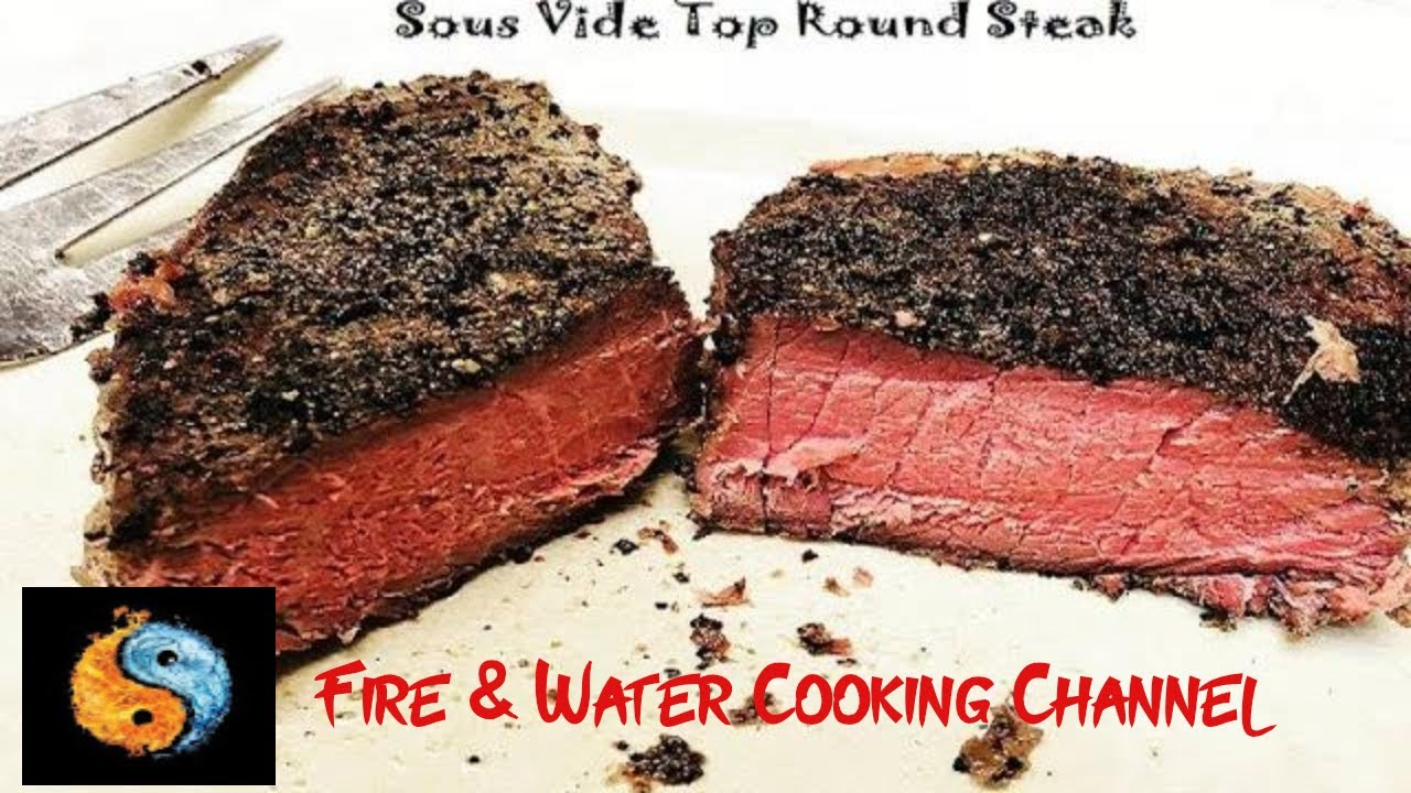 sous vide top round steaks aka london broil youtube