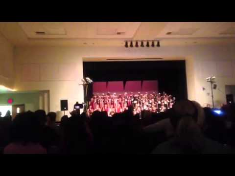 Beattie Middle School Choir 2013