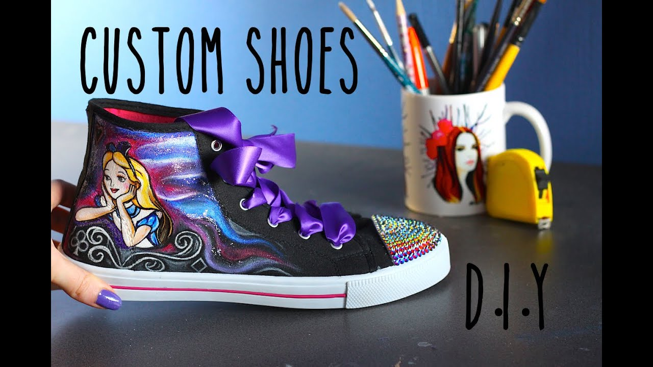 Tutorial  PAINT Paint Zapatos PAINT  BLING & CUSTOMIZE ff31de