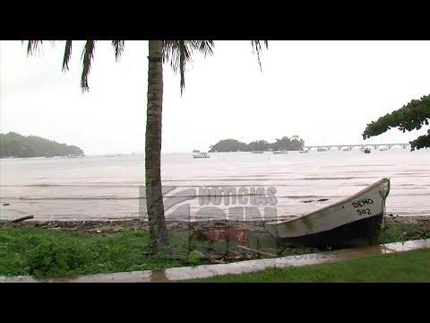 Samaná comienza a sentir las lluvias por el huracán María