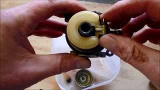 how to fix a two stroke victa lawn mower carburetor