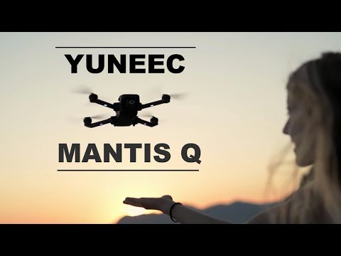 YUNEEC MANTIS Q - The New Travel Drone - Better than the DJI Spark?