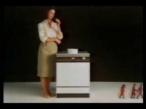 GE Potscrubber Dishwasher commercial [1980s] - YouTube
