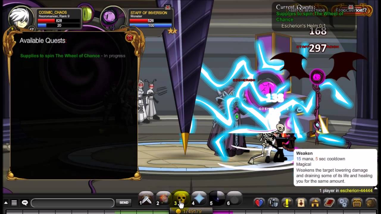 Aqw Supplies To Spin The Wheel Of Chance Quest Walkthrough Youtube