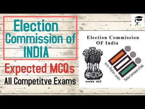 Expected Mcq On Election Commission For punjab EC kanungo Exam..