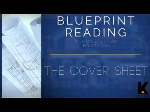 Blueprint Reading (Part 2) THE COVER  ARCHITECTURAL SHEETS - YouTube
