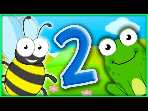 The Number 2 | Number Songs By BubblePopBox | Learn The Number Two