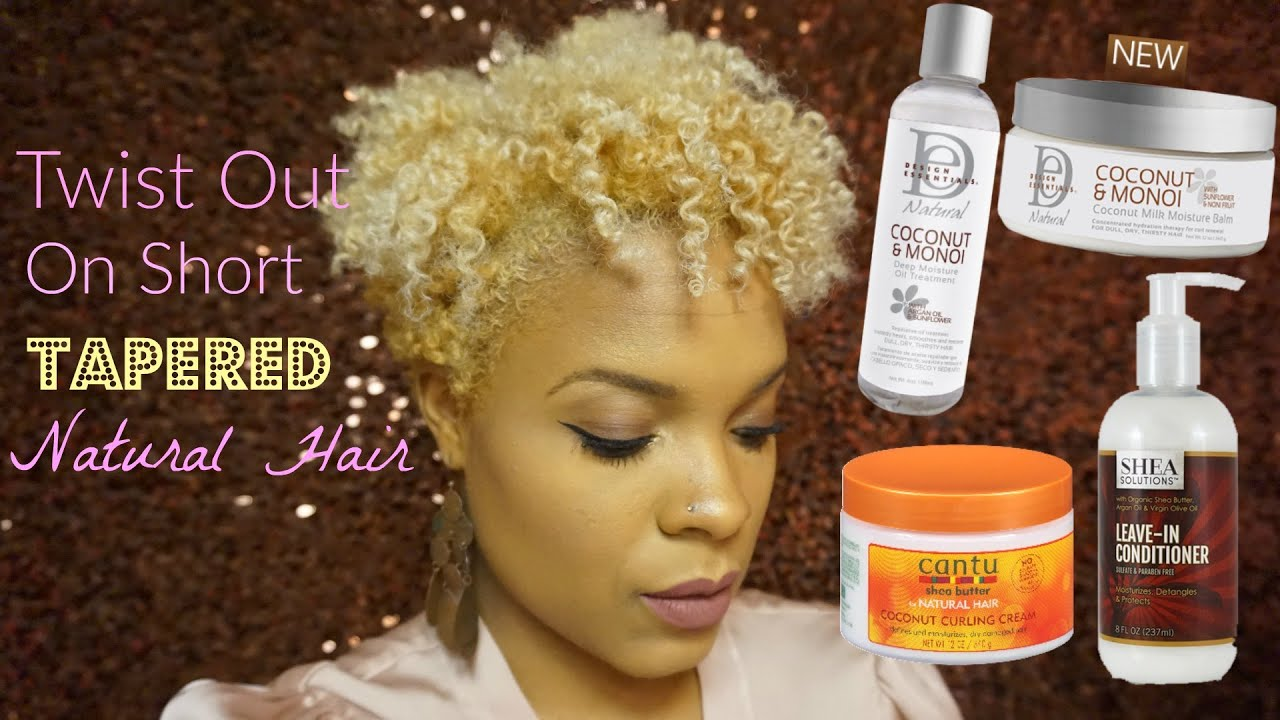 hair styling products for short hair twist out on tapered hair ft design essentials 2127 | maxresdefault