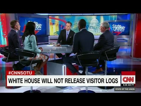 GOP Rep: 'may be' security concern with WH logs