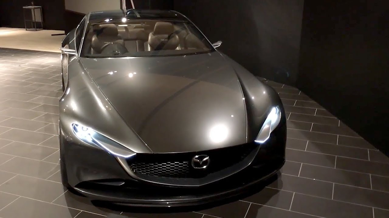 mazda vision coupe tokyo motor show 2017 youtube rh youtube com