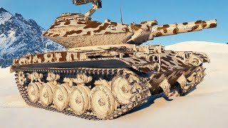 T49 - 152mm HE AMMO POWER - World of Tanks Gameplay