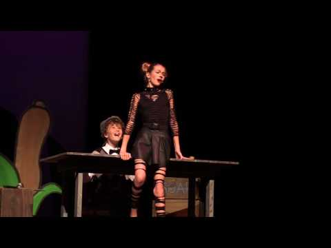 Grace Piper Fields and Fritz Sullivan, Play with Your Food, Honk Jr., Stage Right Performing Arts