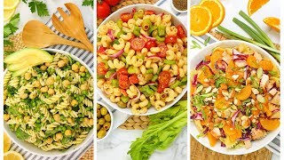 3 Pasta Salad Recipes | No Mayo + Easy Summer Entertaining