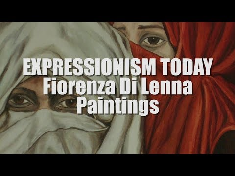 FIGURATIVE PAINTERS OF THE 20TH CENTURY: Fiorenza Di Lenna NeoExpressionism