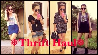 THRIFT/YARDSALE HUGE HAUL,TRY ON Thumbnail