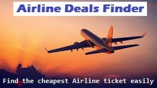 Cheap Fly Tickets Finder | Hotel Deals | Rent A Car