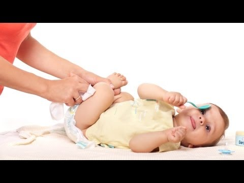 How to Clean Baby during Diaper Change | Infant Care