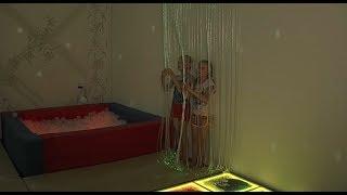В подростковом клубе «Созвездие» работает сенсорная комната