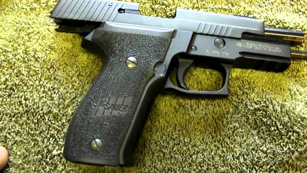 sig p226 40 cal mp4 youtube