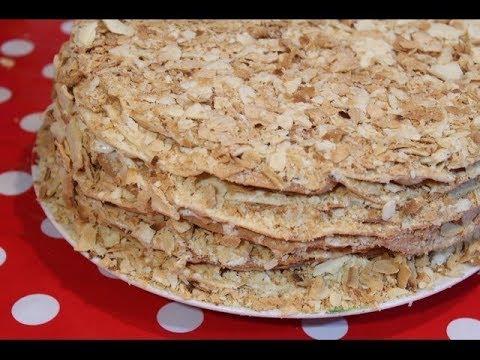рецепт приготовления торт наполеон пошагово