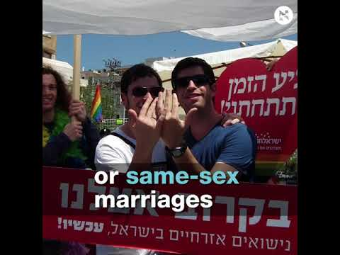 This Rabbi was detained for holding a wedding in israel