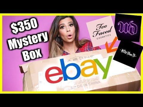I BOUGHT A $350 EBAY BEAUTY MYSTERY BOX! thumbnail