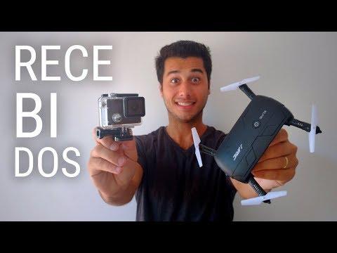 Firefly 7S Camera + Jjrc Elfie Drone | Gearbest Received