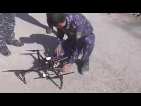 Iraqi Federal Police killed two members of Daesh (isis) By DRONE  in mosul