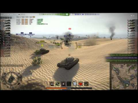 World Of Tanks: My Conqueror On Sand River With Ritagamer @ Twitch.tv