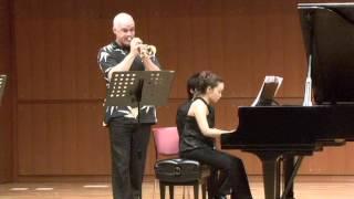 7月15日に行なわれたトランペット奏者、ティモシー・モリソン氏ミニコン...