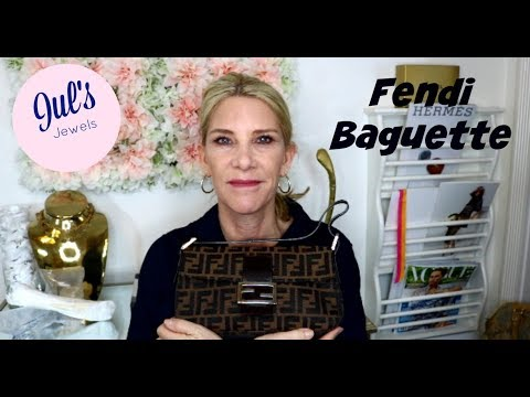 6a0880073d43 Fendi Logo Monogram Baguette Bag - YouTube