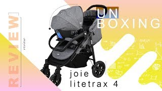 Unboxing & Review Stroller | Joie LiteTrax 4 Travel System