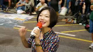 旺角羅文171029-小城故事+飄雪~天后級小龍女演唱