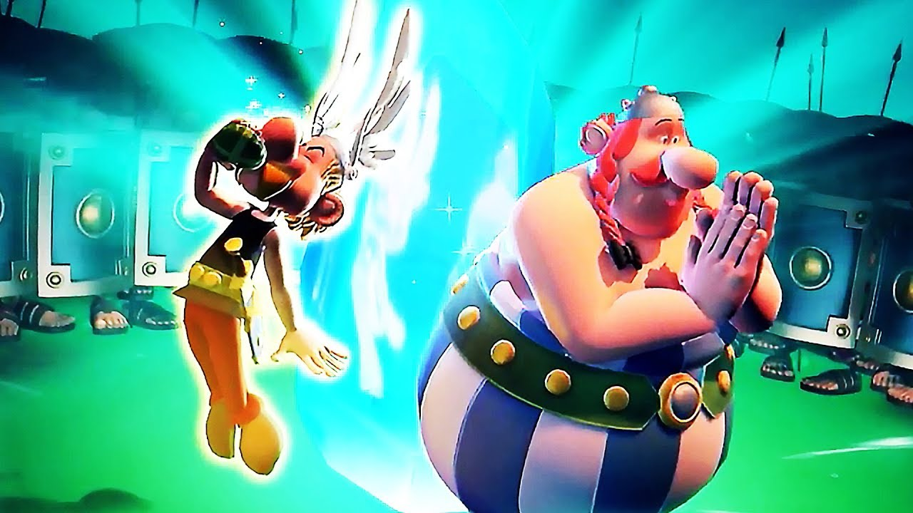 ASTERIX & OBELIX XXL3 Gameplay Teaser (2019) PS4 / Xbox One + video